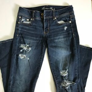 American Eagle Outfitters Jeans - American Eagle Skinny Distressed Jeans